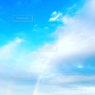 空の雲の写真・画像素材[4161296]
