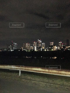 街の明かりの写真・画像素材[527685]