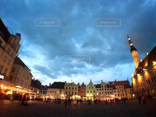 世界で最も美しい街タリンの写真・画像素材[810732]