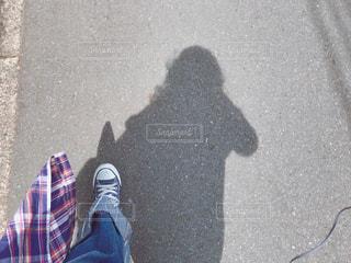 自撮りの写真・画像素材[526803]