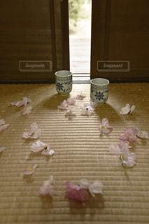 畳の上の。の写真・画像素材[1101911]
