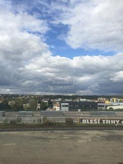 空には雲のグループの写真・画像素材[820764]