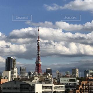 東京タワーの写真・画像素材[525661]