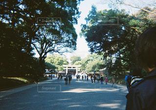 通りを歩く人々 のグループの写真・画像素材[1397243]