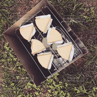 チーズの燻製の写真・画像素材[744112]