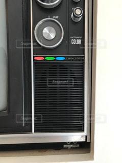 ブラウン管カラーテレビの写真・画像素材[1602431]