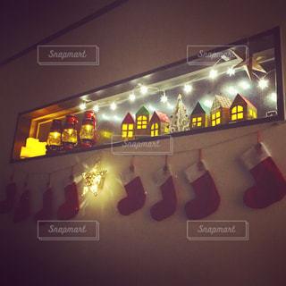 クリスマスインテリアの写真・画像素材[990614]