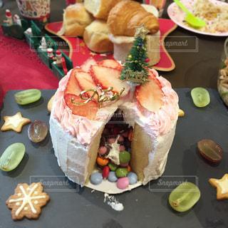 クリスマスケーキの写真・画像素材[990620]