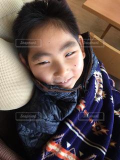 子供の笑顔の写真・画像素材[1005242]