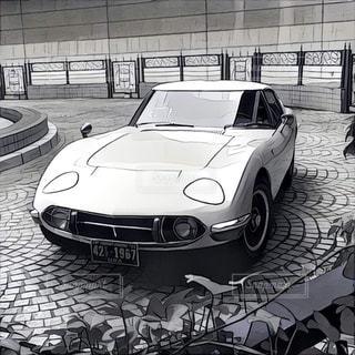 車の写真・画像素材[530086]