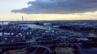 三重県四日市市の工場景色の写真・画像素材[1315193]