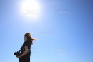海風が強いの写真・画像素材[1320979]