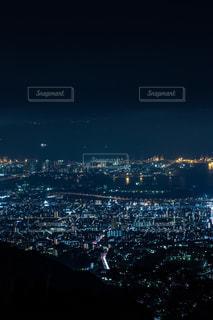六甲山の夜景の写真・画像素材[1321000]