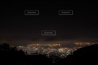 夕暮れ時の都市の景色の写真・画像素材[1321001]
