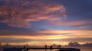 美しい夕焼けの写真・画像素材[1321005]