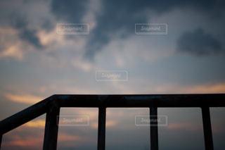 夏の夕暮れの写真・画像素材[1324784]