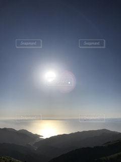 早い夕陽の写真・画像素材[2485782]