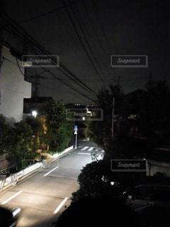 夜道の写真・画像素材[531401]