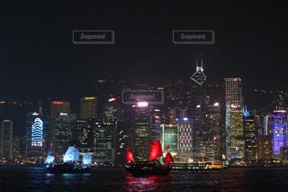 夜景の写真・画像素材[531880]
