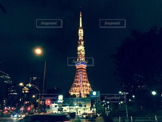 東京タワーの写真・画像素材[538288]