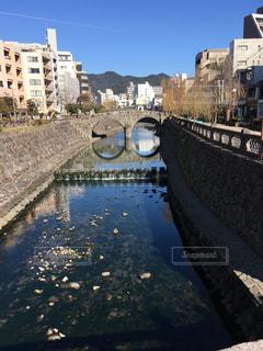 長崎の眼鏡橋の写真・画像素材[1002455]
