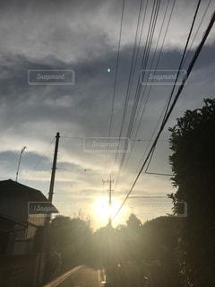夕日の写真・画像素材[561414]