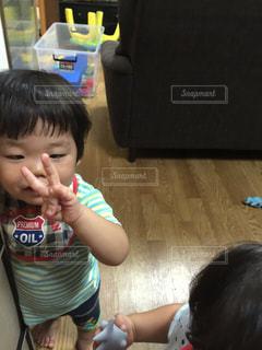 赤ちゃんの写真・画像素材[536693]