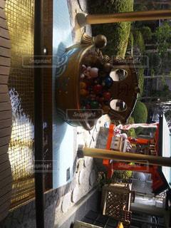 足湯の写真・画像素材[537851]
