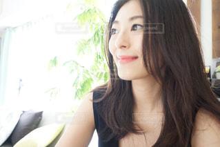笑顔の女性の写真・画像素材[737782]