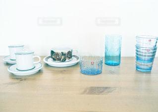 フィンランドの食器の写真・画像素材[1525439]