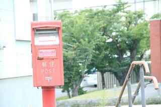 建物の側面にある記号の写真・画像素材[716353]