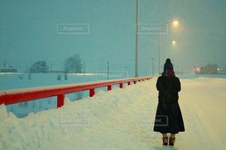 雪に覆われた橋 - No.903583