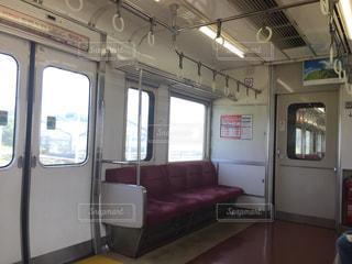 電車の中の写真・画像素材[738687]