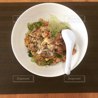 レタス炒飯の写真・画像素材[741010]