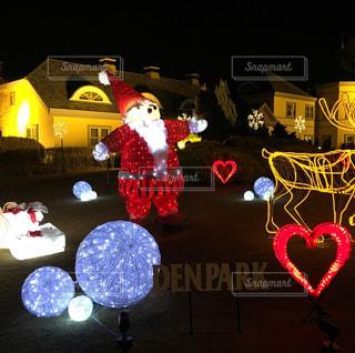 デンパークのクリスマスイルミネーションです。 - No.756661