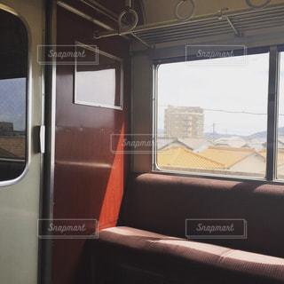 車窓の写真・画像素材[784676]