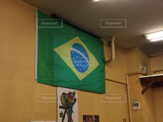 ブラジル国旗の写真・画像素材[826763]