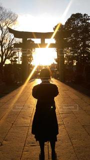 夕日の写真・画像素材[541217]