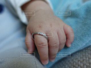 赤ちゃんの手 - No.820210