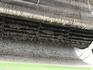 エアコン内部の汚れの写真・画像素材[2398755]