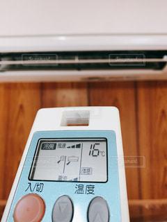 温度設定の写真・画像素材[3290565]