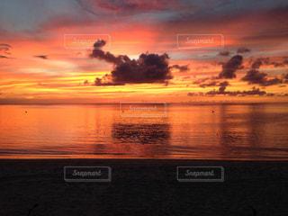 夕焼けの写真・画像素材[543437]