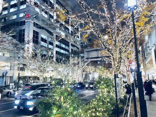 表参道イルミネーション冬の写真・画像素材[898418]