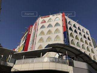 大きな白い建物の写真・画像素材[1155494]