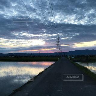 夕焼けの写真・画像素材[545484]
