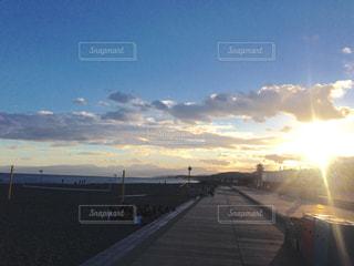 ビーチの写真・画像素材[585992]