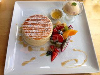 フワフワパンケーキの写真・画像素材[1363992]