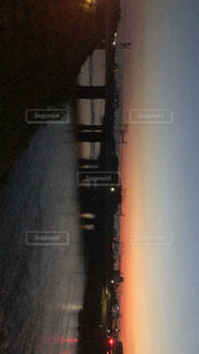夜の街の景色の写真・画像素材[1220746]
