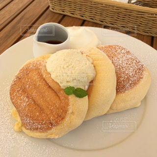 パンケーキの写真・画像素材[606343]