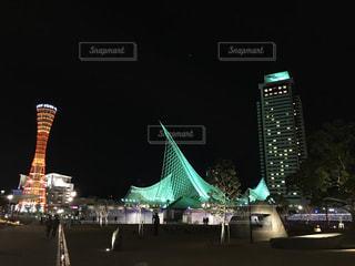 夜の街の写真・画像素材[902814]
